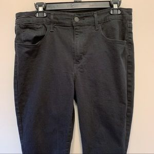 Levi's high rise skinny jeans ,Size 14/32